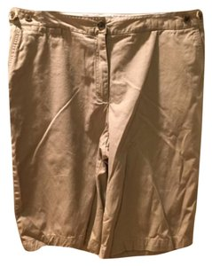 Lands' End Bermuda Shorts Khaki