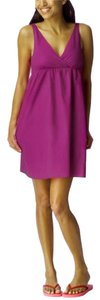 Old Navy short dress Mauve Summer Cotton on Tradesy