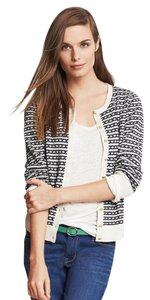 Banana Republic Preppy Anchor Navy Cardigan