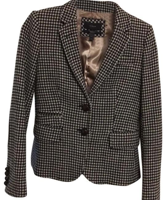 Item - Black and White Houndstooth Pant Suit Size 0 (XS)