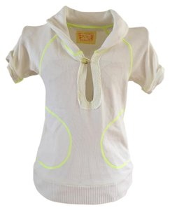 Free People Pull-over T Shirt white