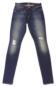 7 For All Mankind Gwenevere Seven Skinny Jeans-Medium Wash
