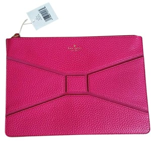 Kate Spade Leather Fushia Clutch