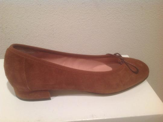 Fabio Rusconi All Suede And Leather Brown Flats