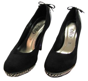 Other New Size 6.50 M Excellence Condition Black, Silver, Platforms