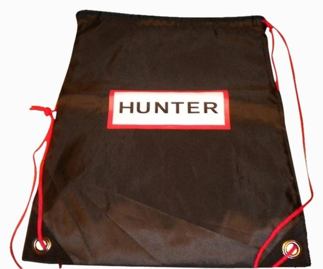 Item - Black with White and Red Logo New Sleeper/ Dust Bag / Protective Cover 13 Inch X 17 Inch Length. Drawstring