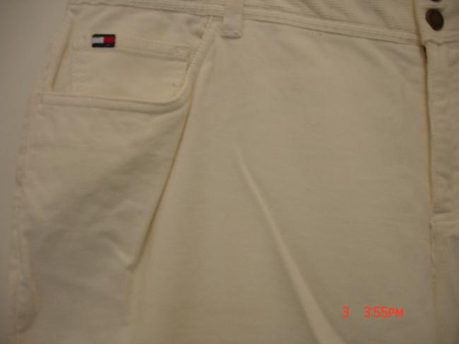 Tommy Hilfiger Straight Pants Off White Image 1