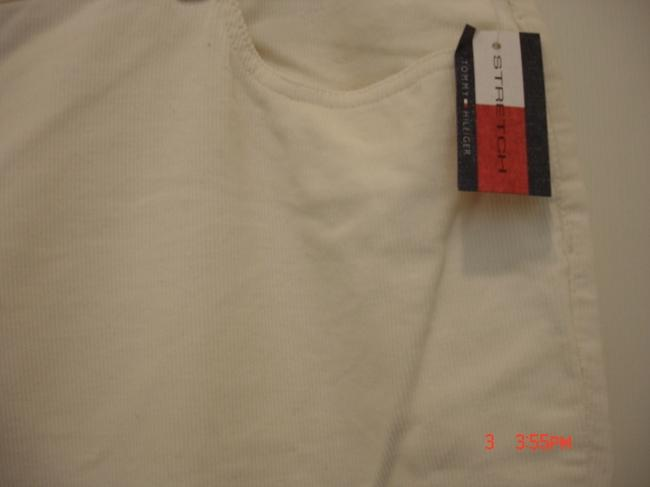Tommy Hilfiger Straight Pants Off White Image 2