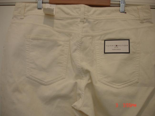 Tommy Hilfiger Straight Pants Off White Image 3