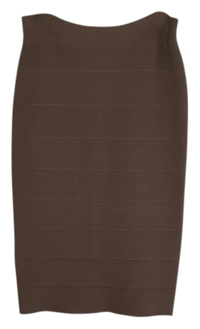 Item - Taupe Power Skirt Size 8 (M, 29, 30)