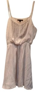 Lucca Couture short dress Cream on Tradesy