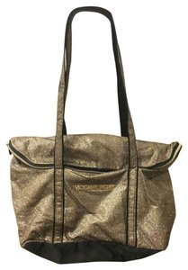 Victoria's Secret Weekend Bachelorette Travel Gym Tote in Gold