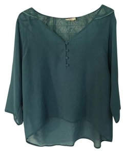 Urban Outfitters Top dark teal