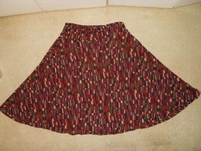 Kenneth Cole Reaction Skirt red multi