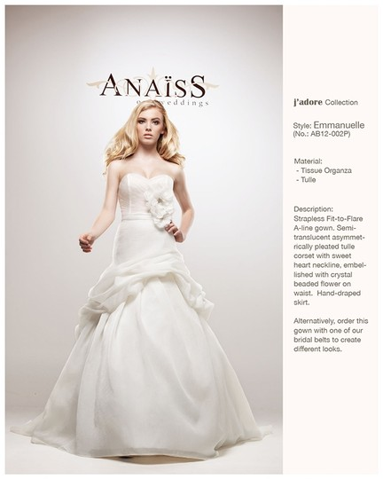 Anais Collezioni Ab12-002 Wedding Dress