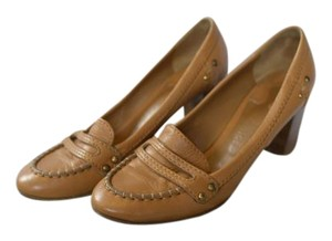 Chloé Loafers Chloe French Tan Pumps