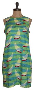 LINE TWO short dress MULTI COLOR Shift Summer on Tradesy