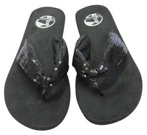 Tidewater New Size 8.00 M Black Sandals