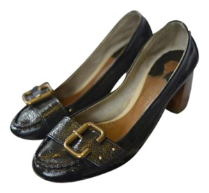 Chloé Chloe Loafers French Parisian Black Pumps