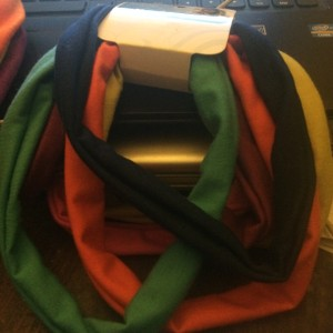 scünci 6 Brand New Scunci Multi-Colored Headbands Hair bands