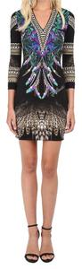 Just Cavalli Bodycon Animal Print Contemporary Dress