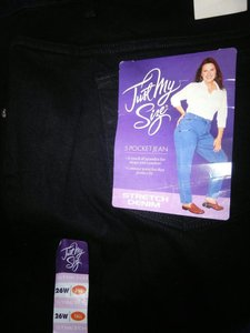 Just My Size Relaxed Fit Jeans-Dark Rinse