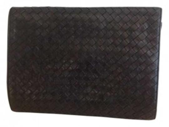 Bottega Veneta Vintage Classic All Occasion Soft Leather black Clutch