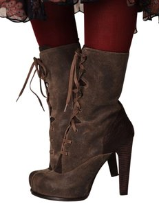 Free People Bohemian Brown Boots