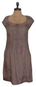 Anthropologie short dress TAUPE Pockets Sheath on Tradesy