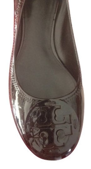 Tory Burch Patent Black Flats
