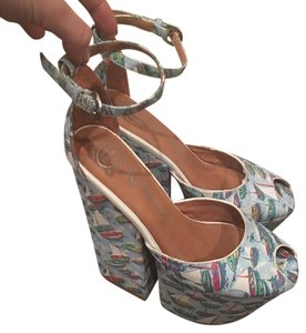 Jeffrey Campbell Sail Boat Platforms