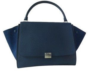 Céline Satchel in Navy