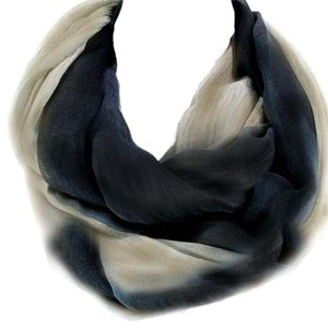 Other Infinity Ombre Scarf Black & Tan Modal