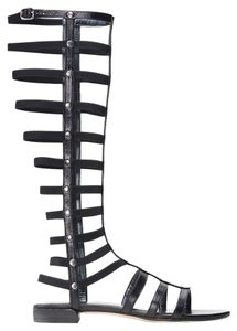 Stuart Weitzman Gladiator New Women New Sale Clearance Black Sandals