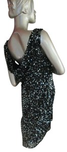 Patra India Brown Sequin Beaded Dress