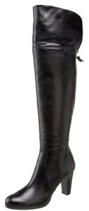 Polo Ralph Lauren Leather Knee High black Boots