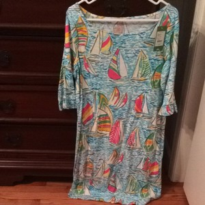 Lilly Pulitzer short dress Print- You Gotta Regatta on Tradesy