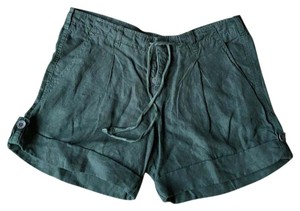Vince Cuffed Shorts Green