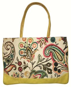 Other Vegan Boho Paisley Tote in Yellow