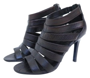 Cole Haan Maria Sharapova Caged Sandals Strappy Heels Nike Air Black Pumps