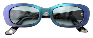 Chanel Chanel Sunglasses CC logo Purple Blue Gradation