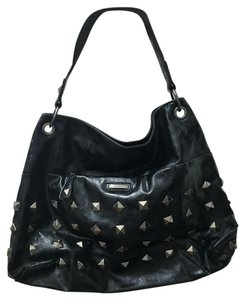 Nine West Vegan Faux Leather Studded Shoulder Bag