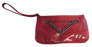 Express Shiny Wristlet in Red