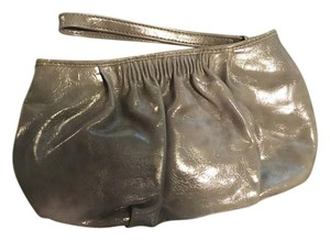 Express Shiny Wristlet in Gray