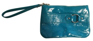 Express Shiny Wristlet in Turquoise
