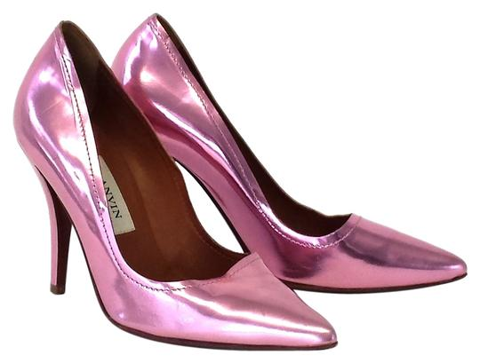 Preload https://item4.tradesy.com/images/lanvin-pink-metallic-leather-pointed-pumps-size-us-6-narrow-aa-n-1610588-0-0.jpg?width=440&height=440