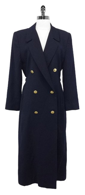Preload https://item3.tradesy.com/images/dior-w-gold-navy-long-double-breasted-w-buttons-size-8-m-1610607-0-0.jpg?width=400&height=650