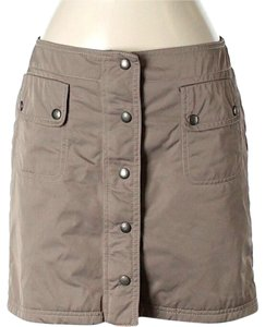 Philosophy di Alberta Ferretti Zip-up Slit Cargo Style Mini Skirt