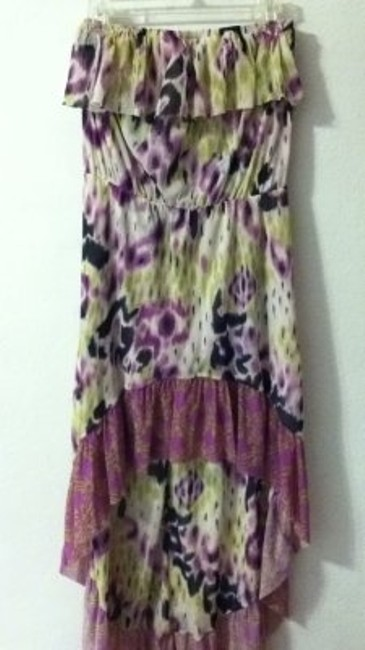 Preload https://item1.tradesy.com/images/anthropologie-purple-green-blk-wht-high-low-casual-maxi-dress-size-8-m-161070-0-0.jpg?width=400&height=650