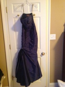 Monique Lhuillier Navy Make Way Gown Dress
